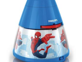 Philips - disney - veilleuse à pile projecteur led bleu spid - Veilleuse Enfant
