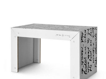 Corvasce Design - tavolo in cartone pisk - Table Bureau