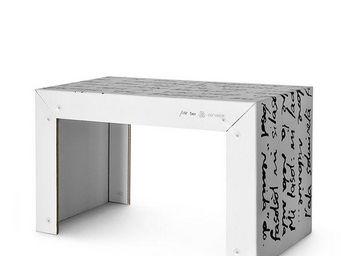 Corvasce Design - tavolo in cartone pisk - Table Bureau