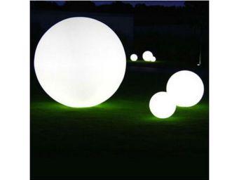 TossB - globe lumineux à même le sol / de table globo inté - Objet Lumineux
