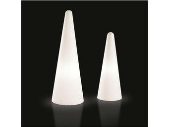 TossB - cône lumineux cono intérieur / extérieur - Lampe De Jardin