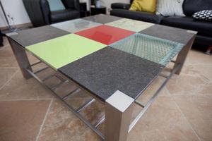 INOXYTABLE -  - Table Basse Avec Plateau