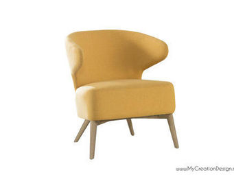 MyCreationDesign - pat moutarde - Fauteuil Crapaud