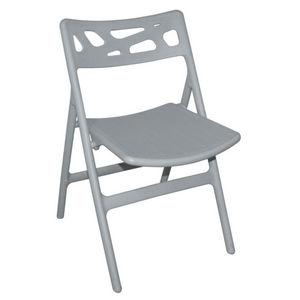 COMFORIUM - lot de 6 chaises de terrasse pliables de coloris g - Chaise De Jardin Pliante