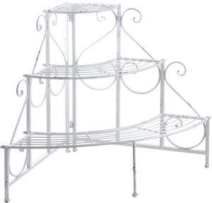 Aubry-Gaspard - etag�re d'angle porte-pots - Porte Plantes