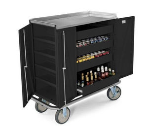 Forbes Group - beverage restock cart 4406 - Chariot À Boissons
