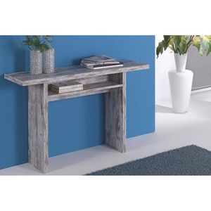 WHITE LABEL - console extensible fiona vintage - Console Extensible