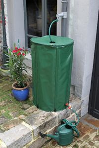 NATURE - récupérateur d'eau pliable 400l - Récupérateur D'eau