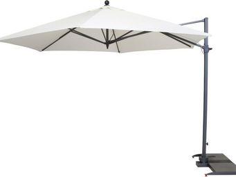 Kettler - parasol déporté hexagonal diamètre 3,5m - Parasol Excentré
