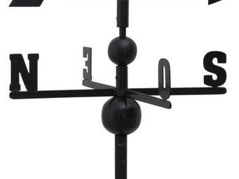 Aubry-Gaspard - girouette en fer forgé coq 97x47x47cm - Girouette