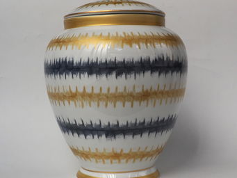Marie Daage - rafia - Vase Couvert