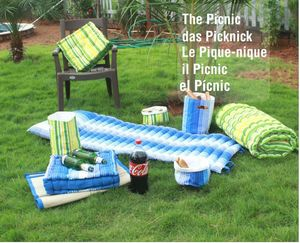 ITI  - Indian Textile Innovation - picnic set - Matelas De Plage