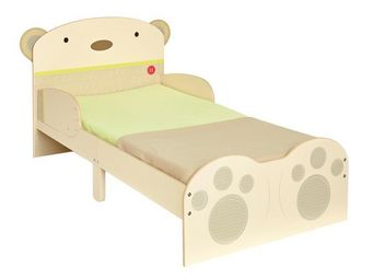 WHITE LABEL - lit + matelas morpho 140*70 cm disney - ourson n°1 - Lit Enfant
