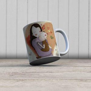 la Magie dans l'Image - mug aurore - Mug