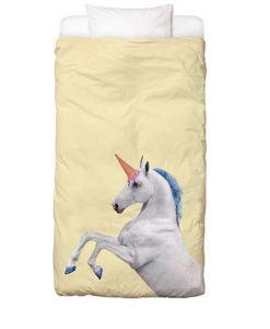 JUNIQUE - ice cream unicorn - Housse De Couette Enfant