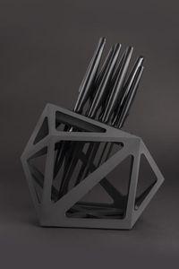EDGE OF BELGRAVIA - black diamond - Bloc Couteaux