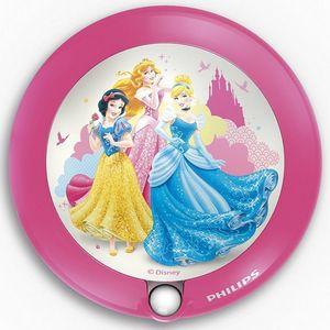 Philips - veilleuse princess détecteur led d9,5 cm - Applique Enfant