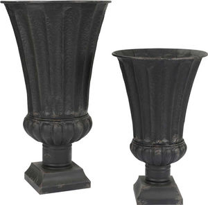 Amadeus - vases medicis noir (lot de 2) - Vase Medicis
