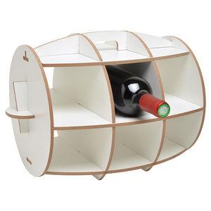 La Chaise Longue - range bouteilles moderne tonneau - Range Bouteilles