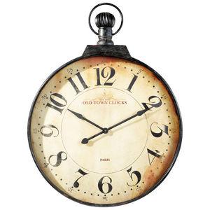 Maisons du monde - horloge gousset cheshir - Horloge Murale