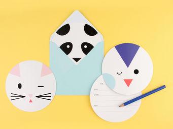 MY LITTLE DAY - mini animaux - Carton D'invitation