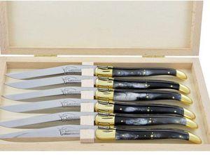 La Coutellerie De Laguiole Honoré Durand - --coffret- - Couteau De Table