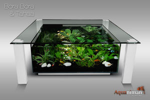AQUANIMAN - bora bora & tahaa - Table Basse Aquarium