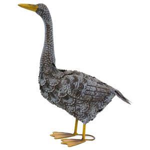 CHEMIN DE CAMPAGNE - statue sculpture canard en fer oiseau oiseaux de j - Ornement De Jardin