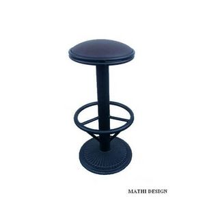 Mathi Design - tabouret bar rotatif industriel - Tabouret De Bar
