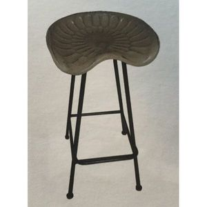 Mathi Design - tabouret de bar tracteur - Tabouret De Bar