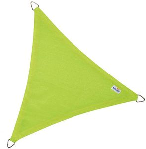 jardindeco - voile d'ombrage triangulaire coolfit vert lime - Voile D'ombrage