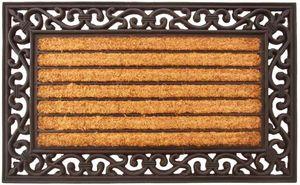 Aubry-Gaspard - paillasson en latex et coco malo - Paillasson