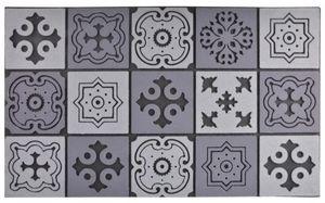 Esschert Design - tapis en caoutchouc motif mosaique - Paillasson