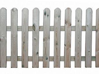 CEMONJARDIN - barrière coquelicot ht 60 cm - Portillon