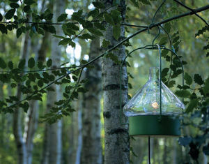 Roger Pradier - la hutte - Lampe De Jardin