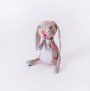 PETER PAN - lapin fleurs - Doudou