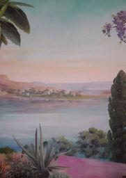 Fabienne Colin - fresque fès - Peinture Murale