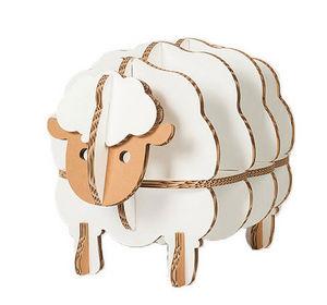 Funnypaper - mouton blanc - Bibliothèque Enfant