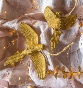 Graham & Green - gold parrot - Décoration De Sapin De Noël