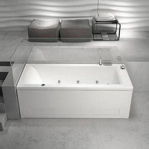 Grandform - mambo air minimal baignoire d'hydromassage - mesurage: 180x80 - taps: avec taps - Baignoire Balnéo