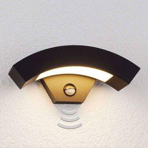 Lampenwelt - applique d'extérieur à détecteur 1414593 - Applique D'extérieur À Détecteur