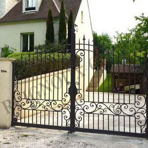 Reignoux Creations - po276 - Portail À Vantaux