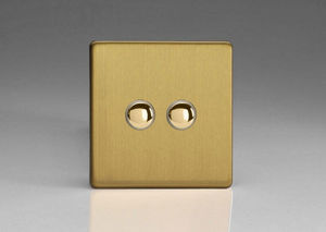ALSO & CO - v&v push switch---- - Interrupteur Double