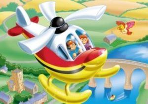 Jumbo - moyens de transport - Puzzle Enfant