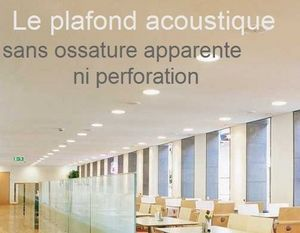 Rockwool France S.A.S-Rockfon -  - Plafond Acoustique
