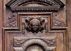 Christian Pingeon / Art Tradition Antiques -  - Porte Palière Pleine