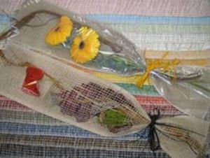 Emballage pour bouquet de fleurs