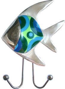 L'AGAPE - ventouse poisson tropical - Crochet Ventouse