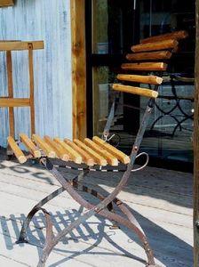 1864 -  - Chaise De Jardin Pliante