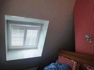 Jasno Shutters - shutters - Store Fenêtre De Toit (intérieur)